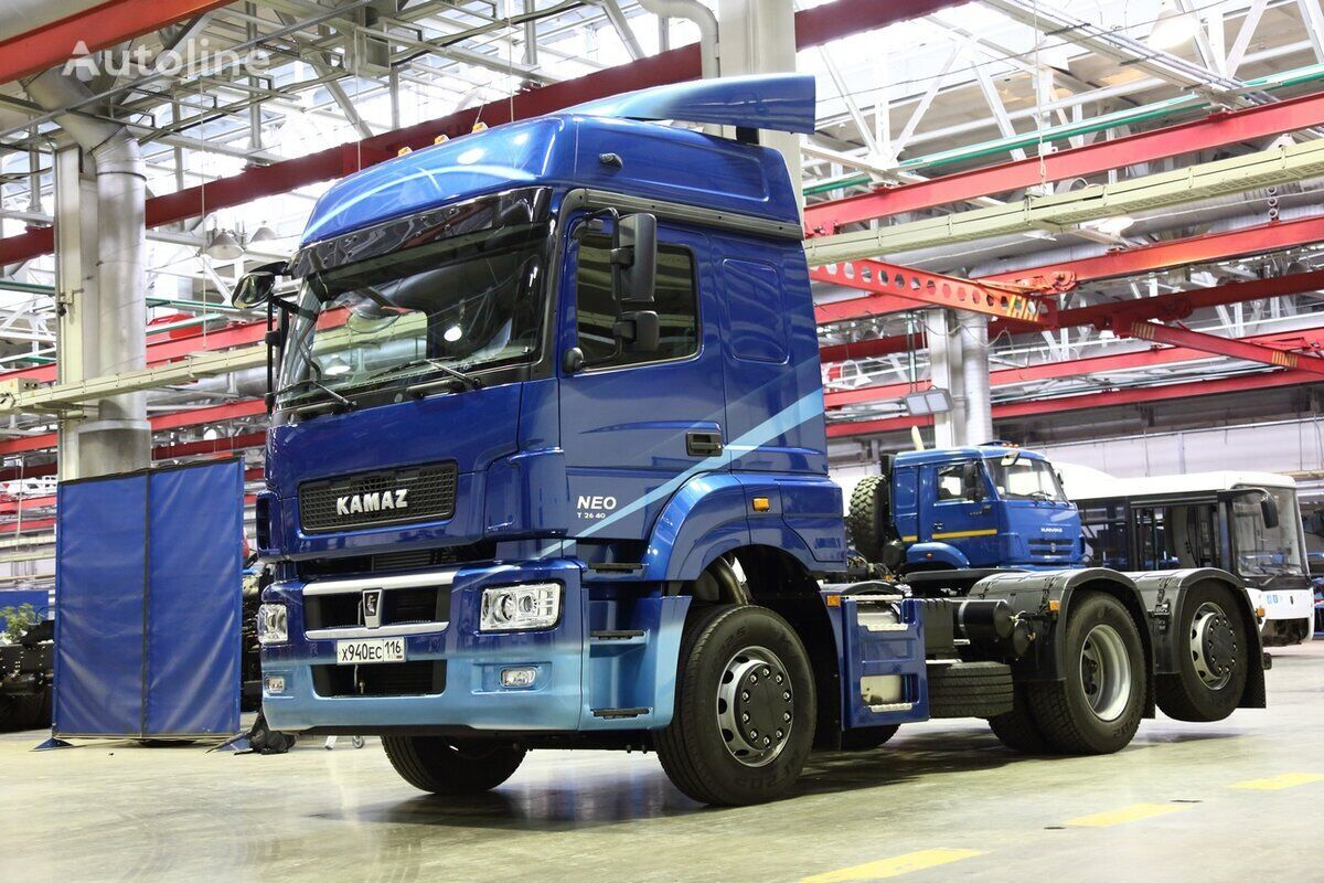new KAMAZ 65209 tractor unit