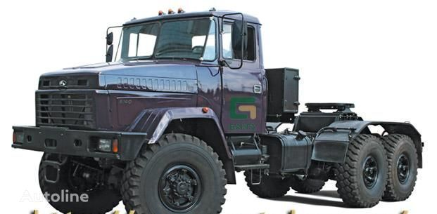 new KRAZ 6140TE tractor unit