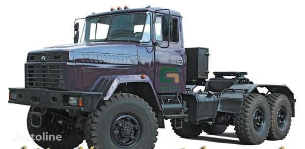 new KRAZ 6140TE tractor unit