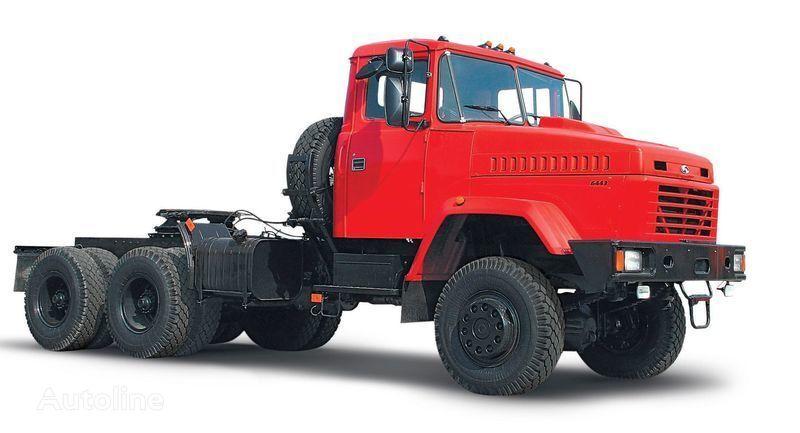 new KRAZ 6443 tractor unit