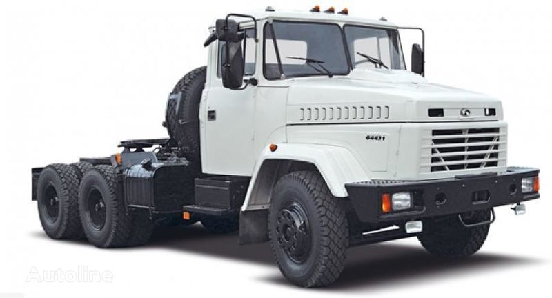 new KRAZ 64431 tractor unit