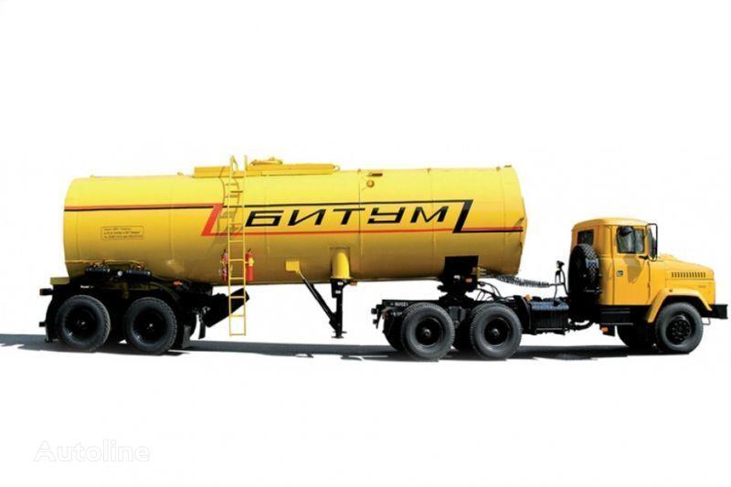 new KRAZ Avtobitumovozy 63431 AB-22 i 6443 AB-30,5  tractor unit + tank trailer