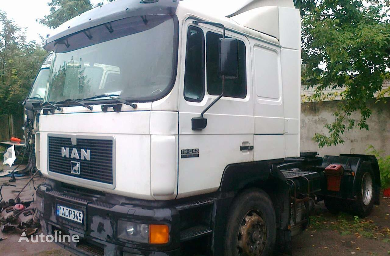 MAN 19.343 tractor unit for parts