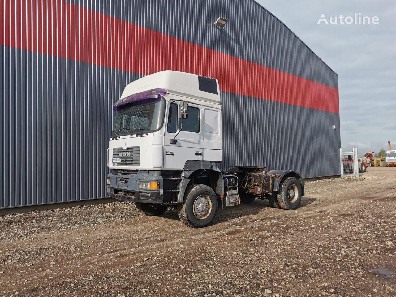 MAN 19.414, 4x4 tractor unit