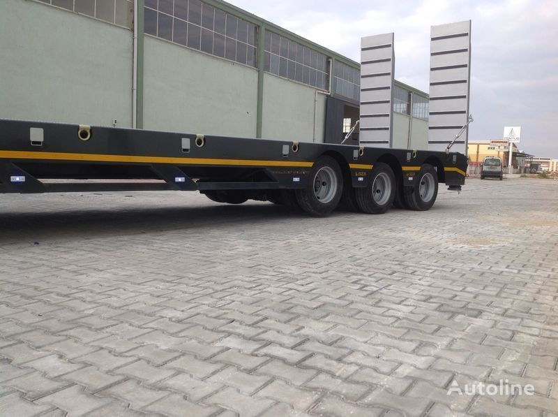 MAN 2018 LIDER TRAILER MANUFACTURER COMPANY tractor unit + low bed semi-trailer