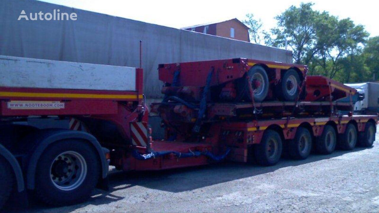 MAN FE tractor unit + low bed semi-trailer