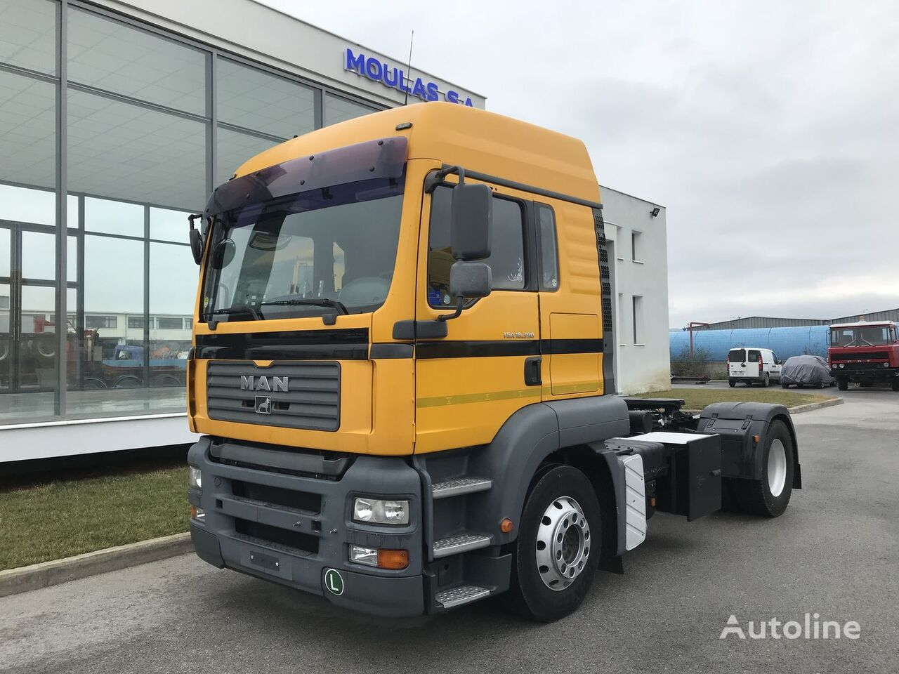MAN TGA 18.390 ADR + INTARDER  tractor unit