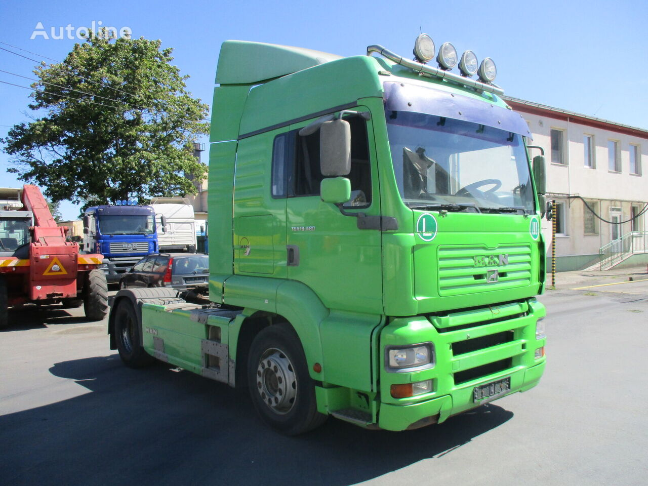 MAN TGA 18.480 tractor unit