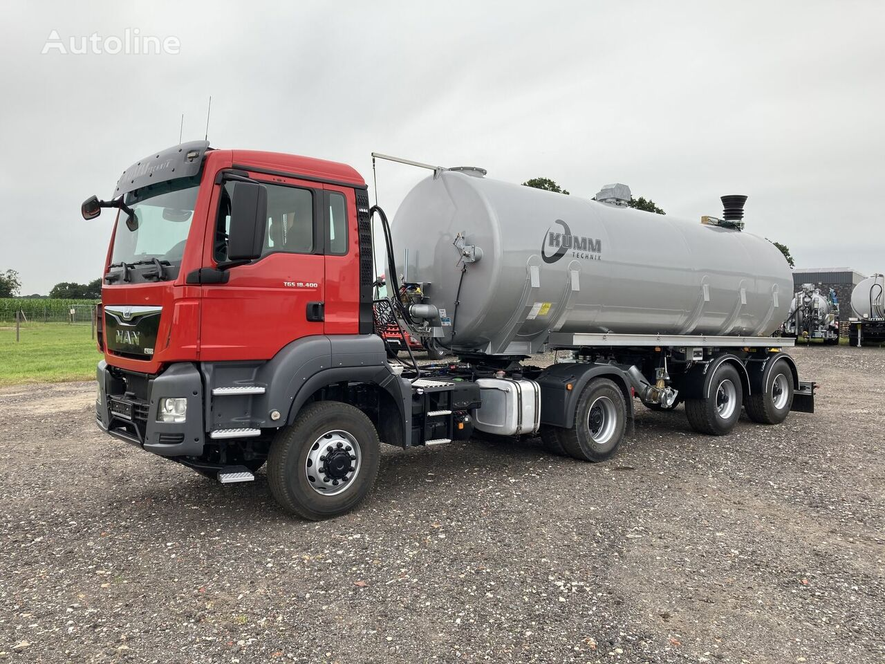 new MAN TGS 18.400 tractor unit + other tank trailer
