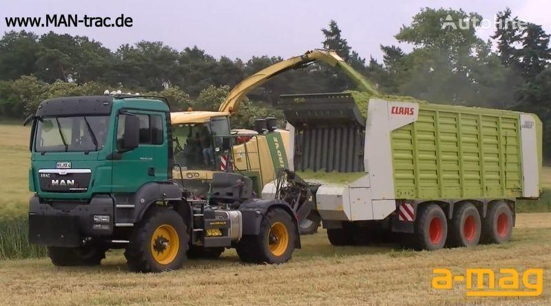 new MAN TGS 18.480 BB 4x4 tractor unit