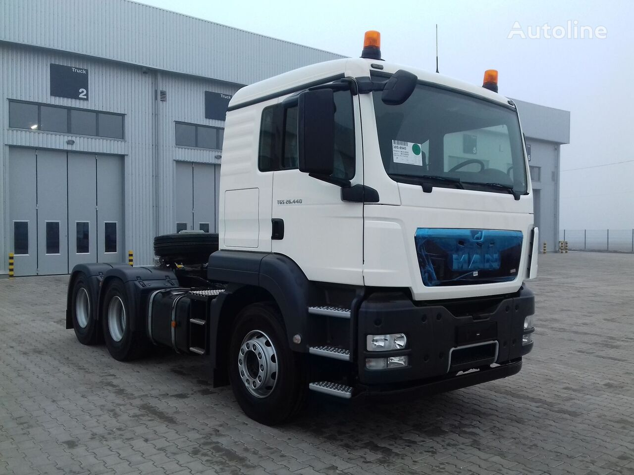 new MAN TGS 26.440 tractor unit
