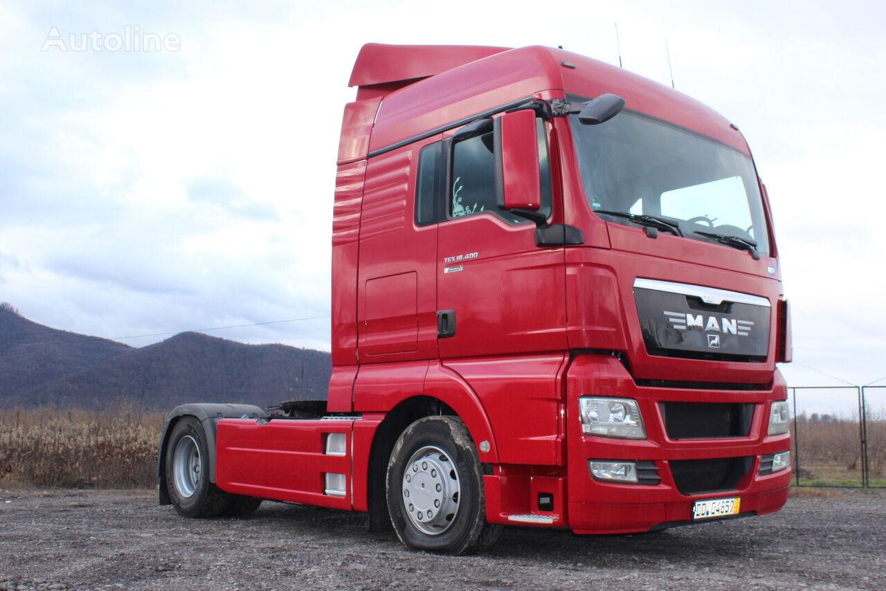 MAN TGX 18.400 tractor unit