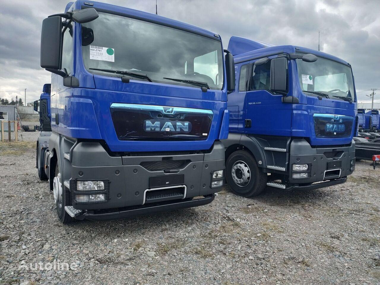 new MAN TGX 18.440 tractor unit