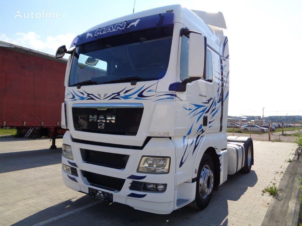 MAN TGX 18.440, EEV, EURO V, RETARDER tractor unit