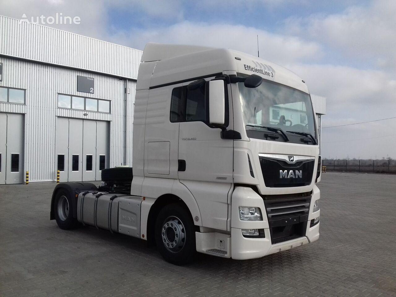 new MAN TGX 18.460 tractor unit