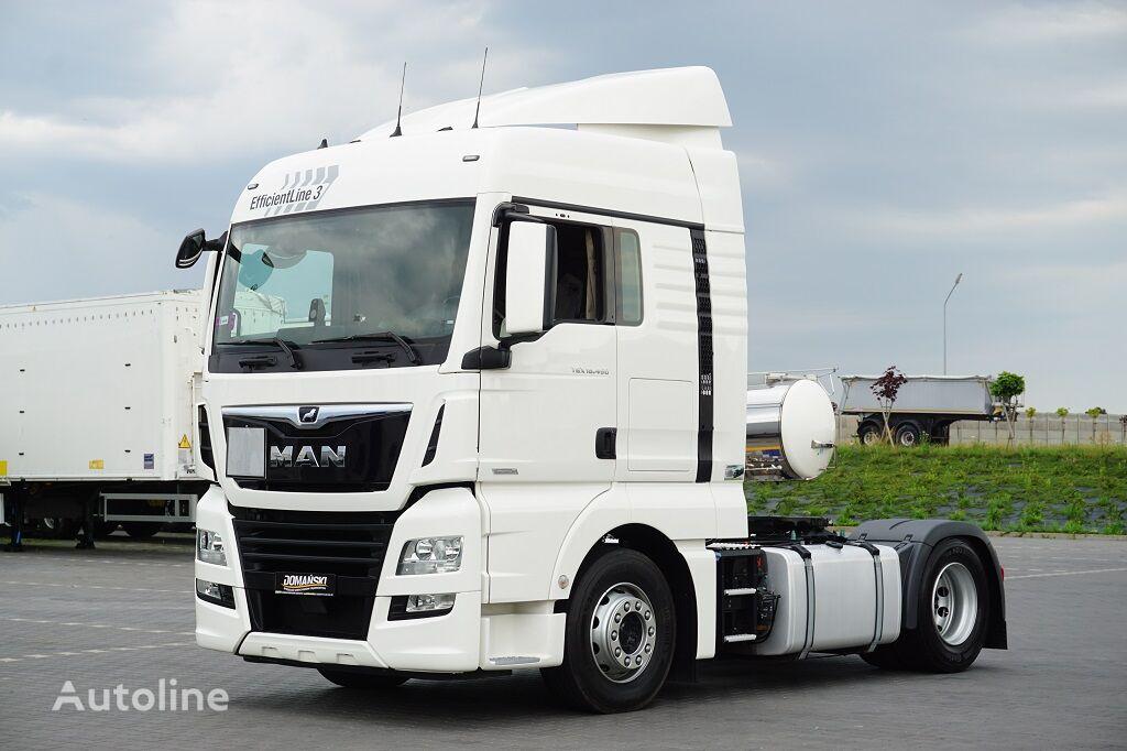 MAN TGX / 18.460 / EURO 6 / ACC / RETARDER  / EfficientLine 3 tractor unit
