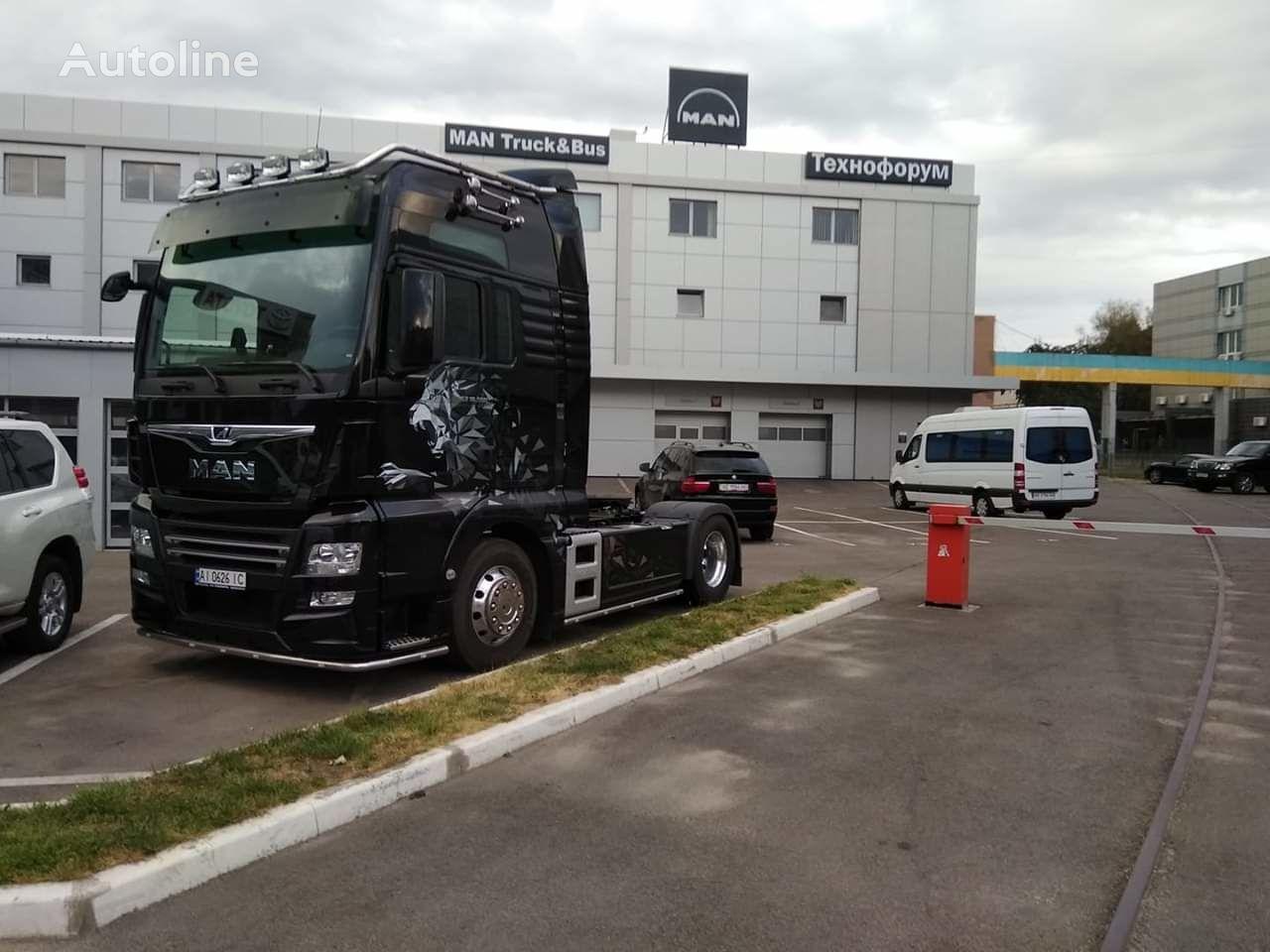 new MAN TGX 18.500 tractor unit