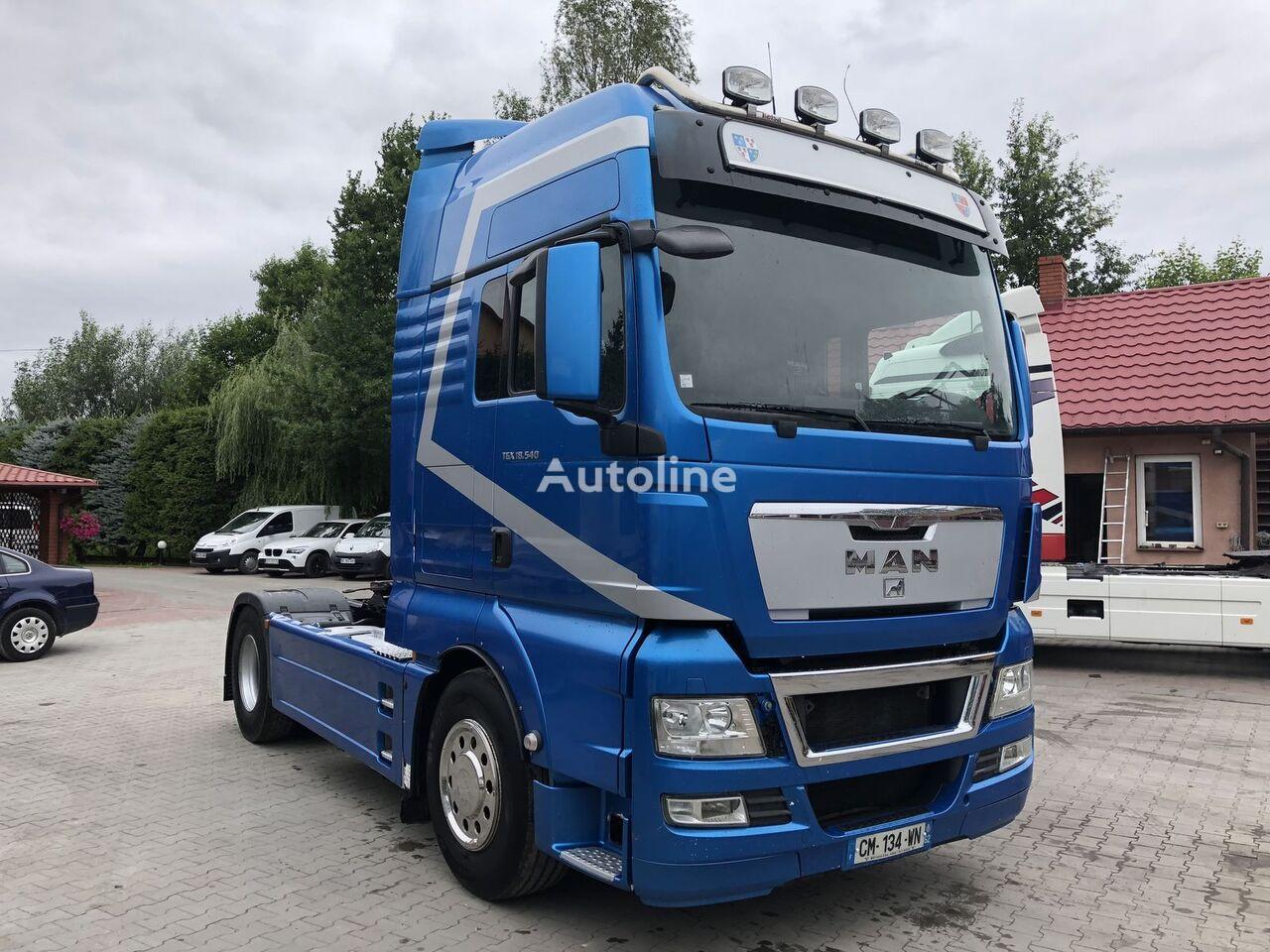 MAN TGX 18 540 XXL !! EURO 5 !! IMPORT FRANCE tractor unit