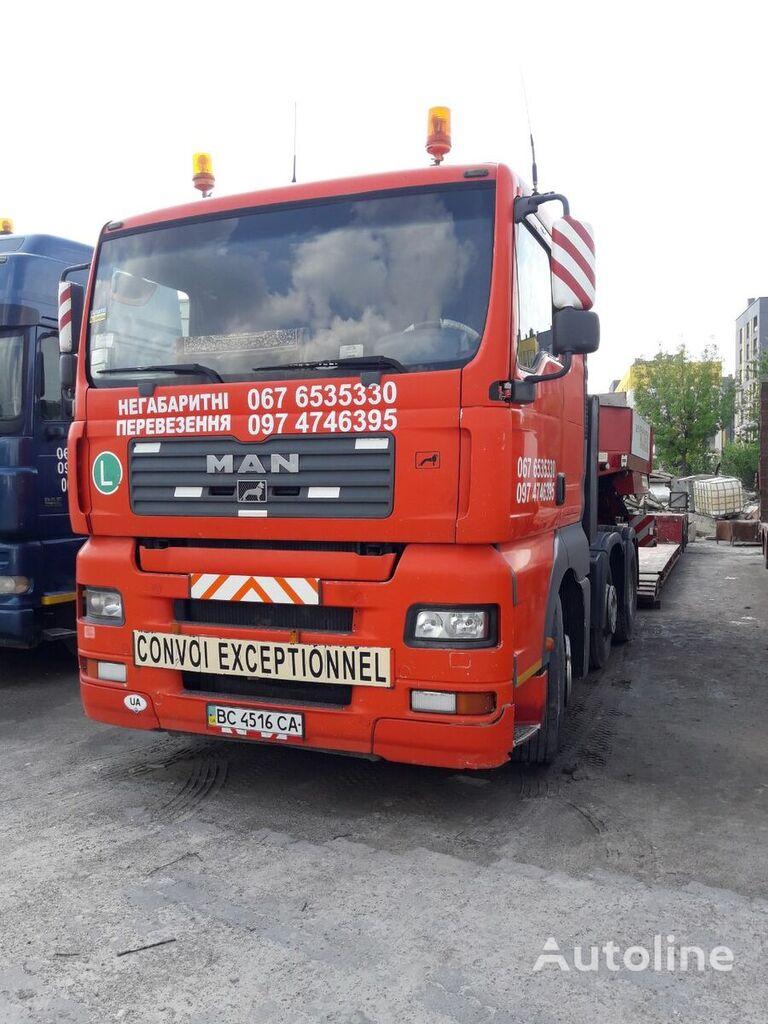 MAN TGX 26.460 tractor unit
