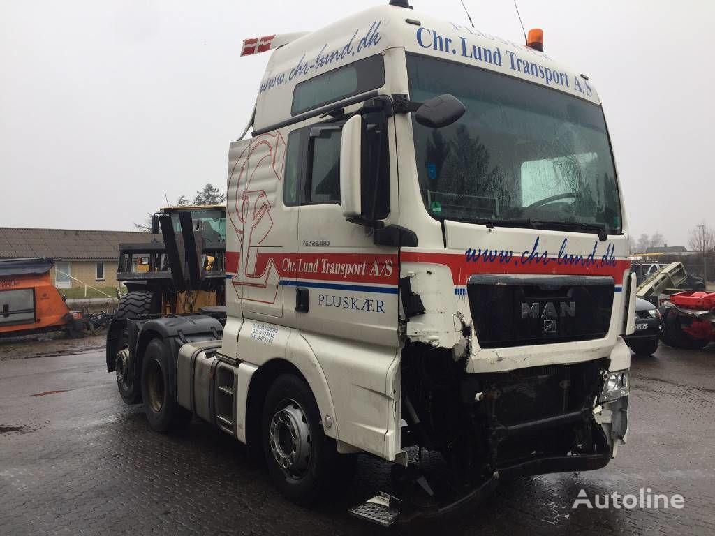 MAN TGX 26.480 DAMAGE tractor unit for parts