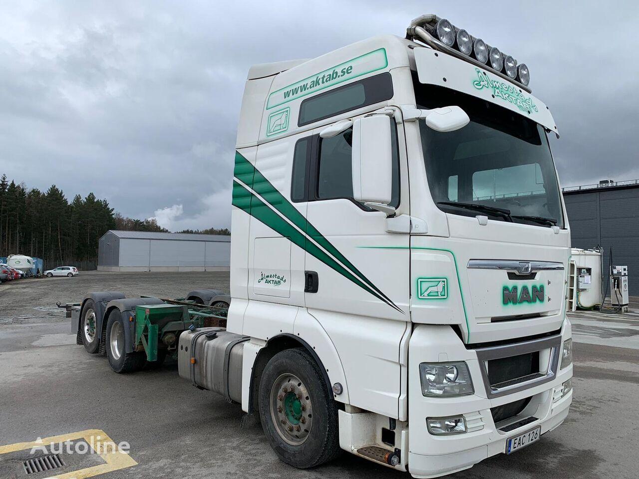 MAN TGX 26.540 6X2-LL tractor unit