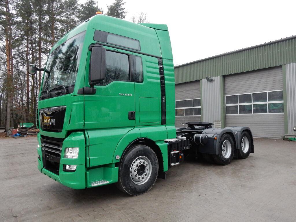 new MAN TGX 33.510 6X4 tractor unit