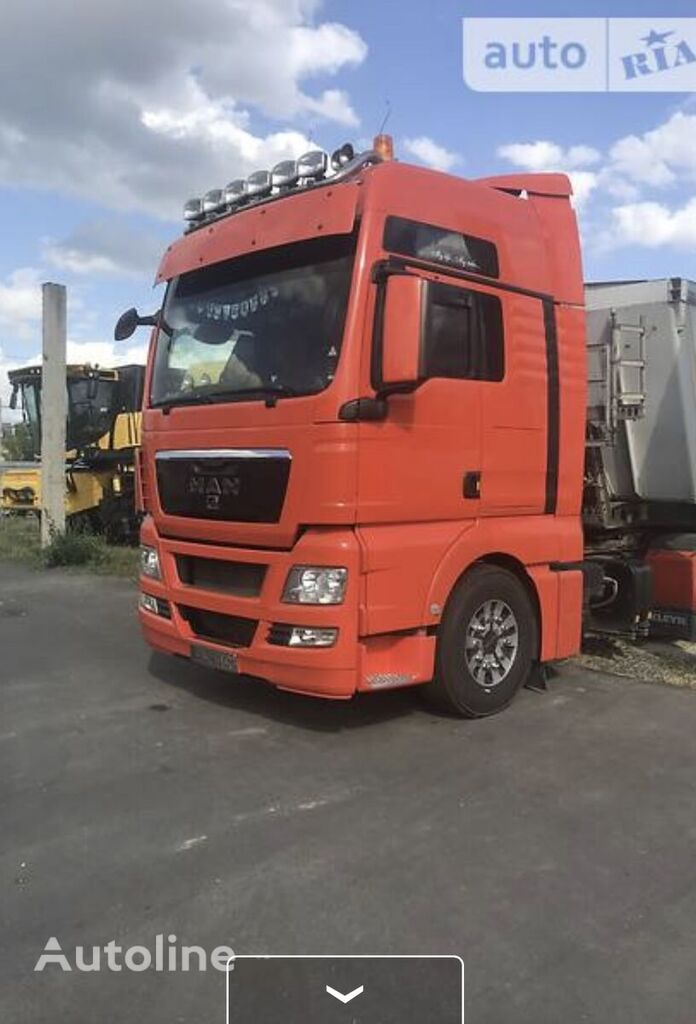 MAN TGH tractor unit