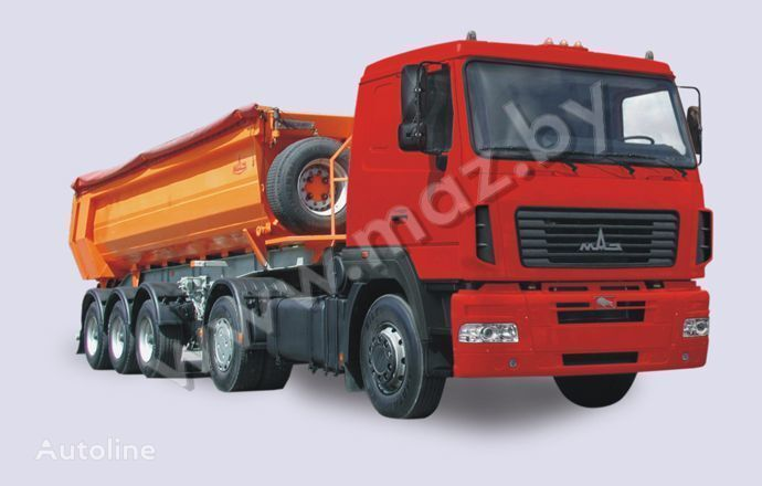 new MAZ 5440 A5 tractor unit