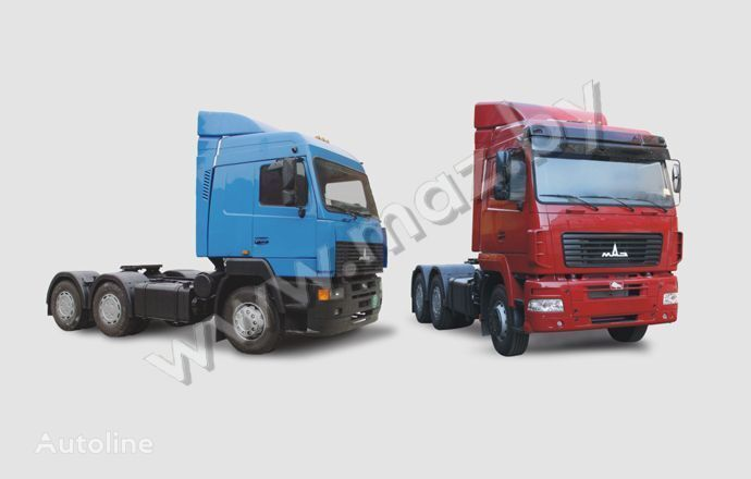 new MAZ 6430 (A8, A9, 18) tractor unit
