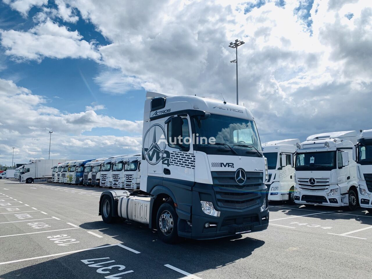 MERCEDES-BENZ 1842 Stream Space Actros tractor unit