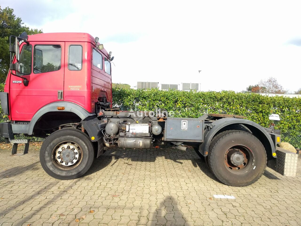MERCEDES-BENZ 1929 V8, 4x4, Allrad, No 1928,1735  tractor unit