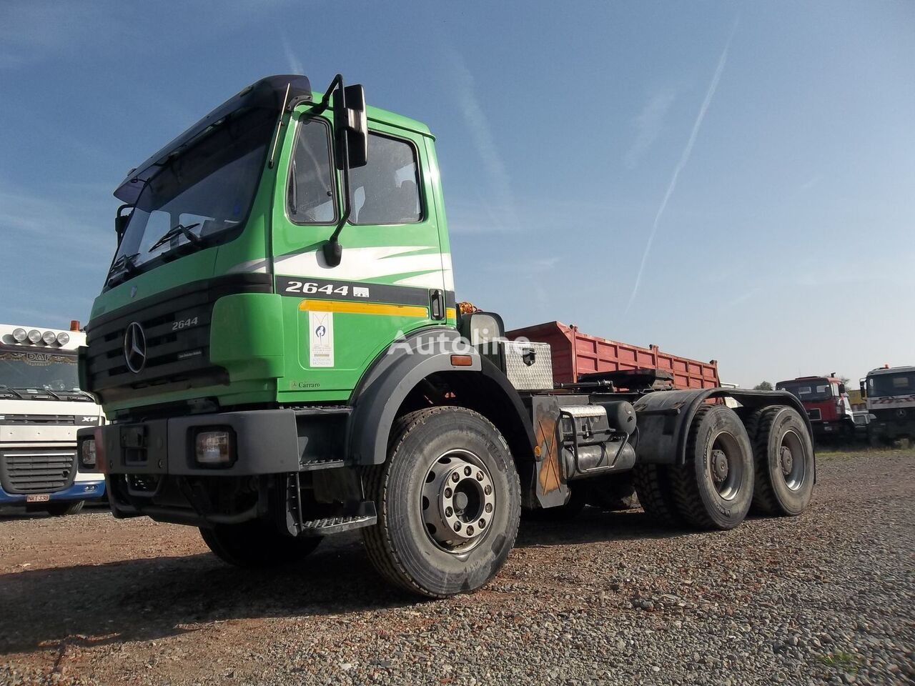MERCEDES-BENZ 2644 - 6x4 tractor units for sale, truck tractor, truck  tractor unit from Belgium, buy tractor unit, VV14864