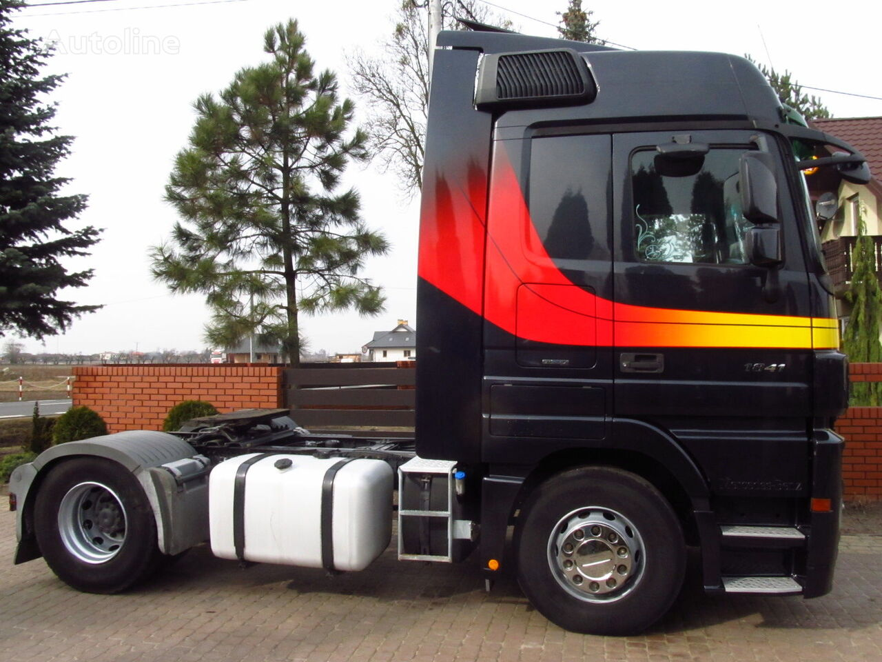 Mercedes benz actros 1841 mp3 tractor units for sale for Mercedes benz actros for sale