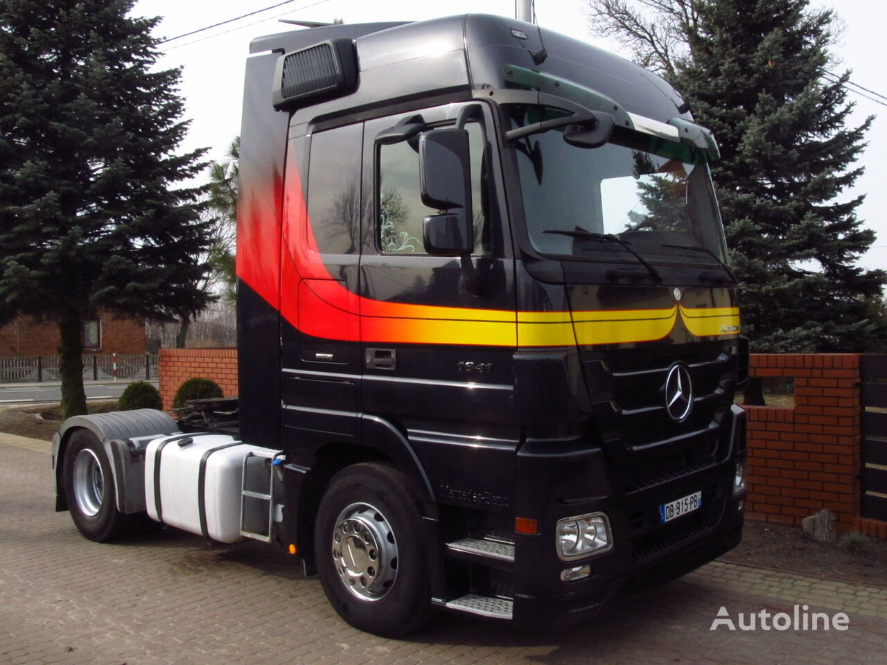 Mercedes benz actros 1841 mp3 retarder tractor units for for Mercedes benz actros for sale