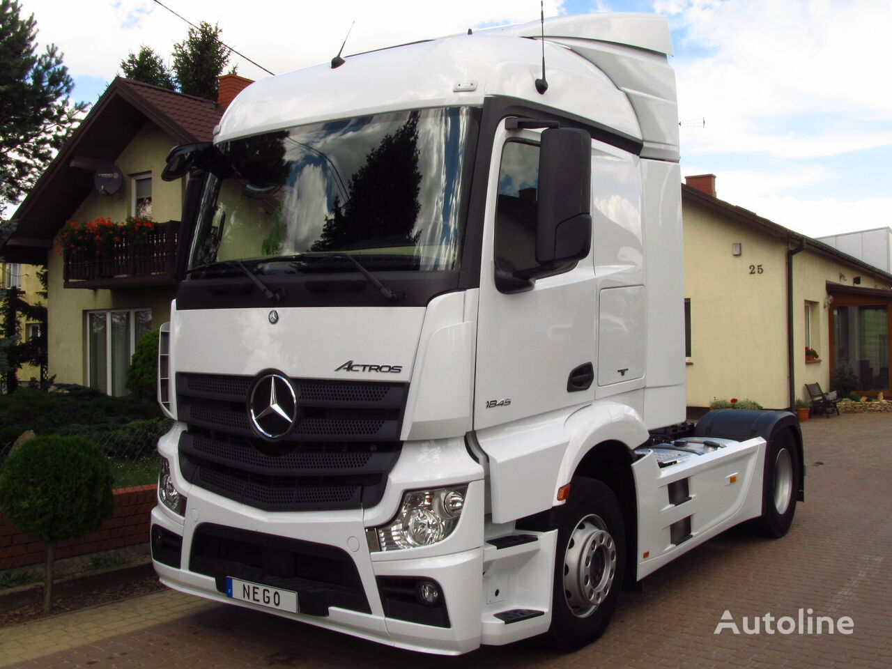 mercedes benz actros 1845 euro 6 mp4 stream space 2014 tractor units for sale truck tractor. Black Bedroom Furniture Sets. Home Design Ideas