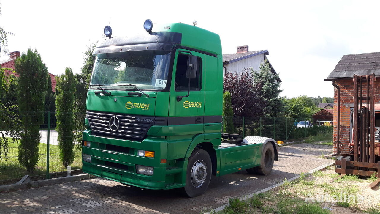 MERCEDES-BENZ Actros 1840 Megaspace (WORKING CONDITION) / PICTURES & VIDEO tractor unit