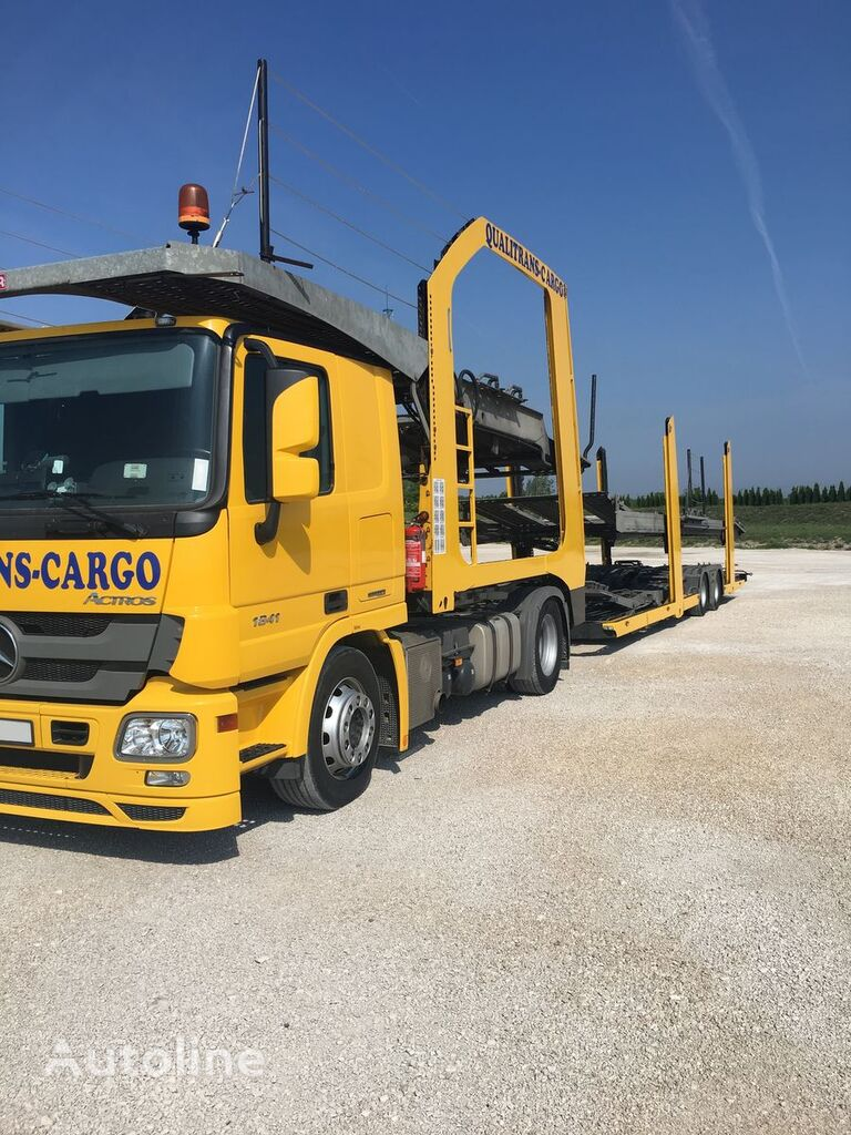 MERCEDES-BENZ Actros 1841 tractor unit + car transporter semi-trailer