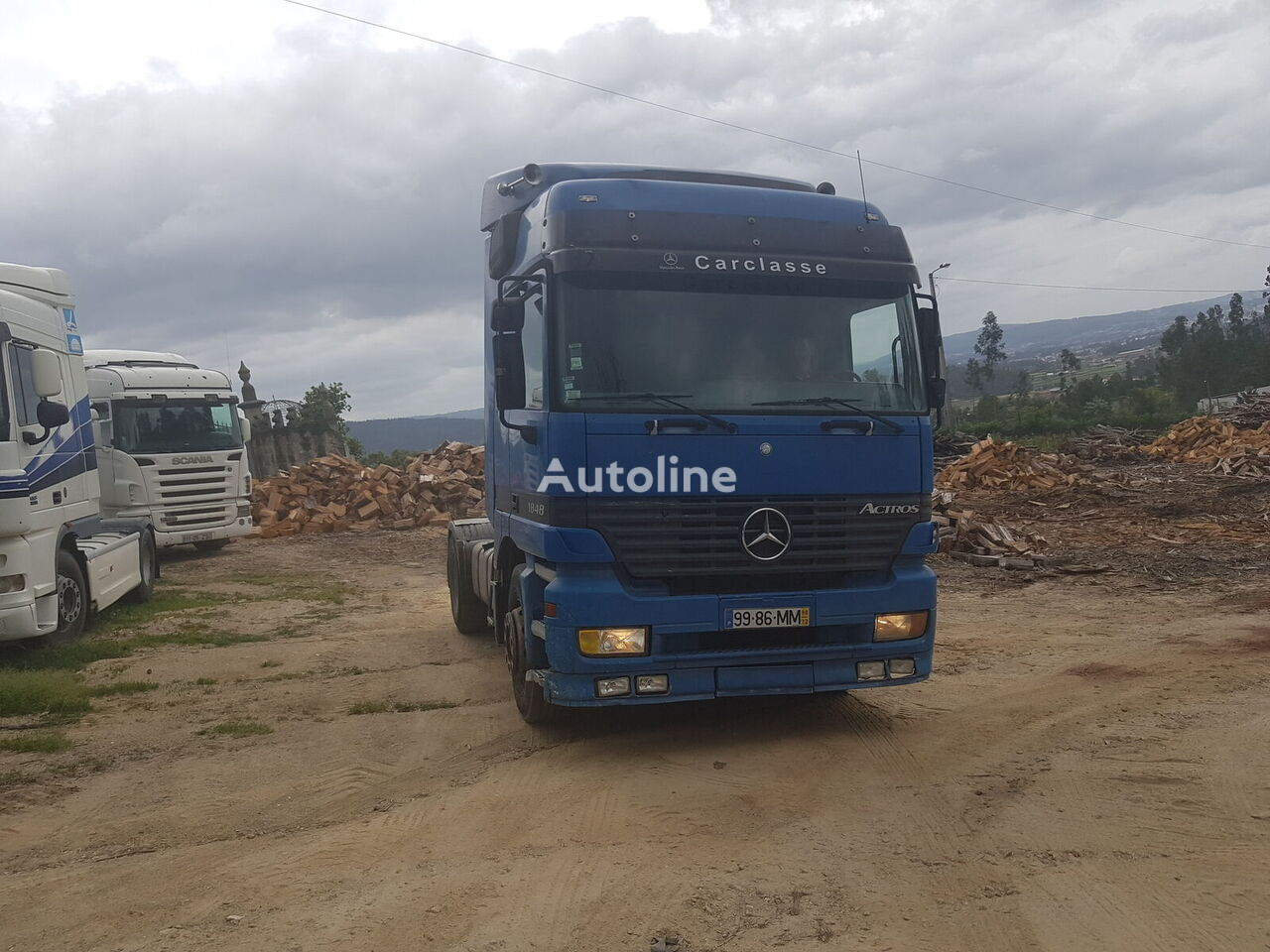 MERCEDES-BENZ Actros 1848 tractor unit