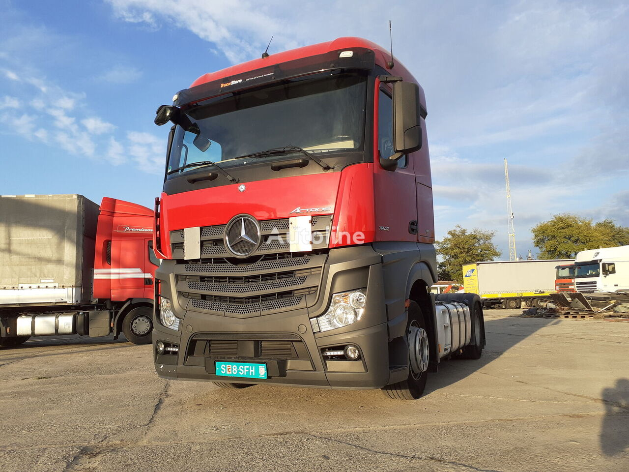 MERCEDES-BENZ Actros 1942  tractor unit