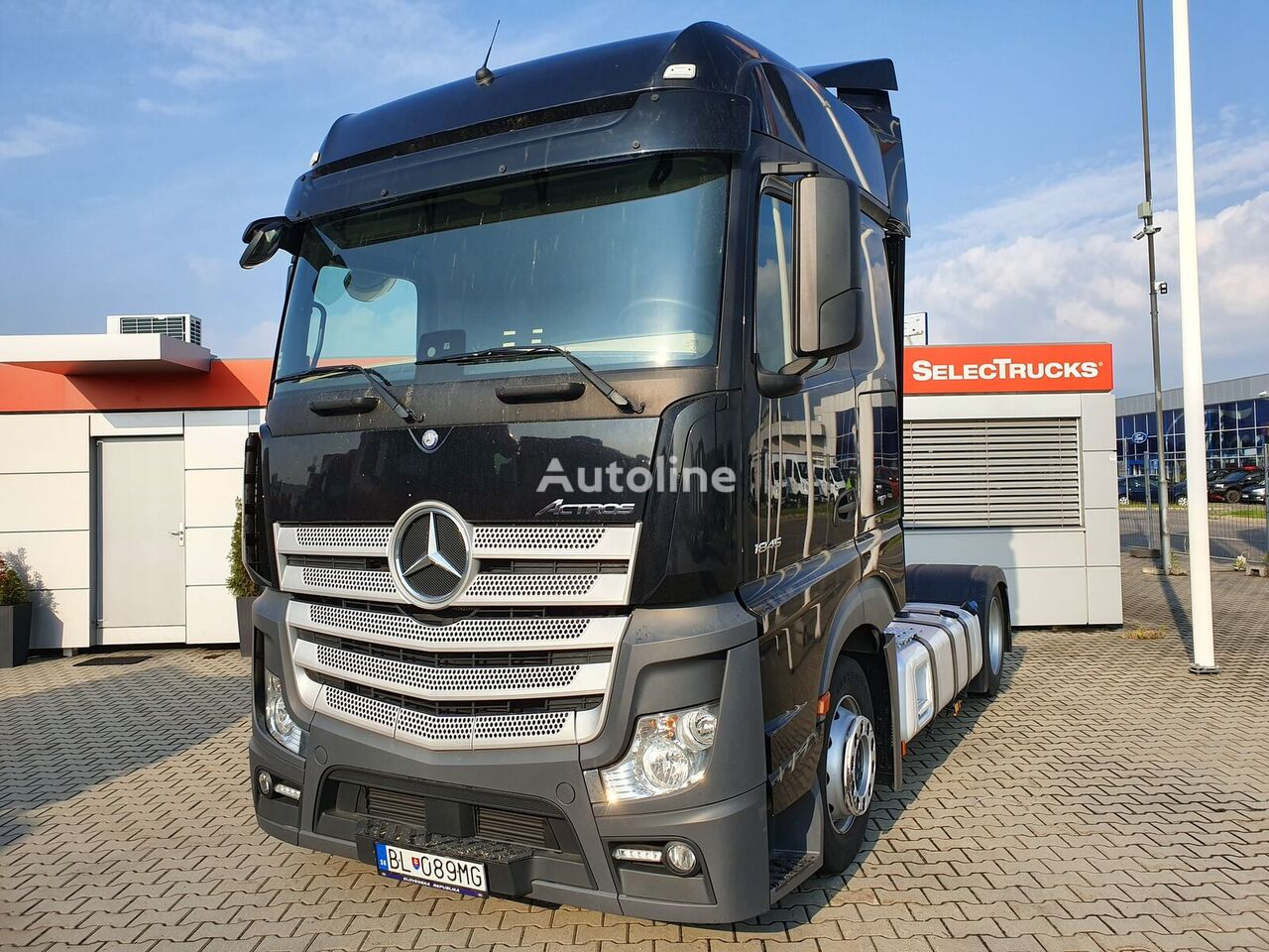 MERCEDES-BENZ Actros1845 LSNRL tractor unit
