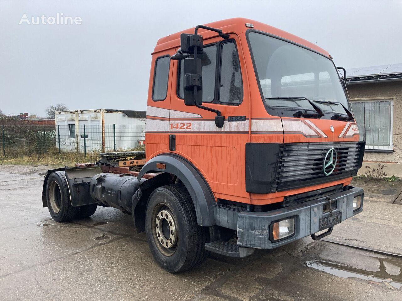 MERCEDES-BENZ SK 1622 M Haus Tipper  Kipphydraulik  tractor unit
