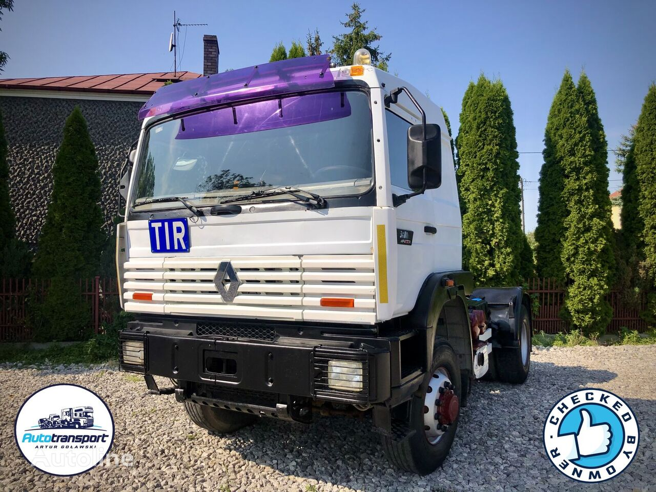 RENAULT G340ti Maxter - 4x4 - Only 250 000km - Big Axle + Hydraulic Sys tractor unit