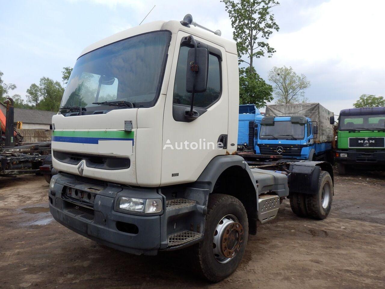 RENAULT KERAX 300 4X4 tractor unit