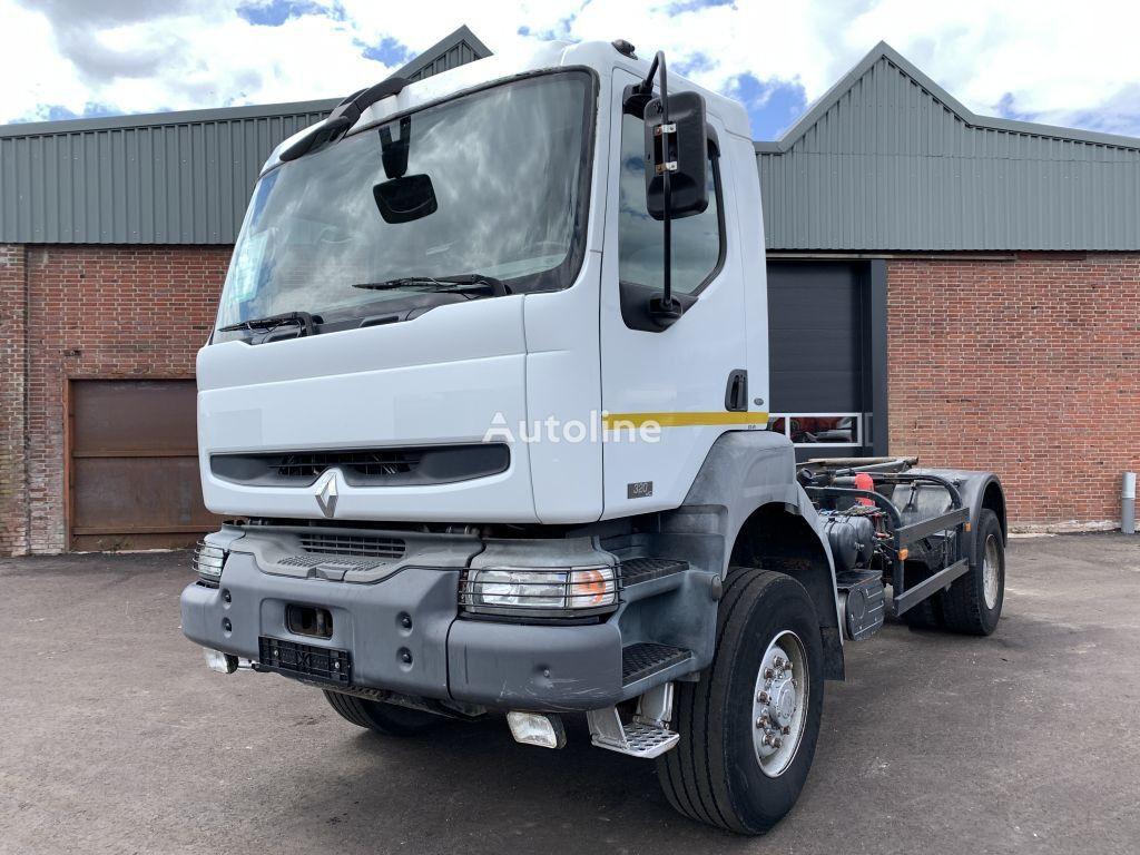 RENAULT Kerax 320 ( CAMPER )4x4 - 2004 - Full Steel - PTO/Hydraulic kit tractor unit
