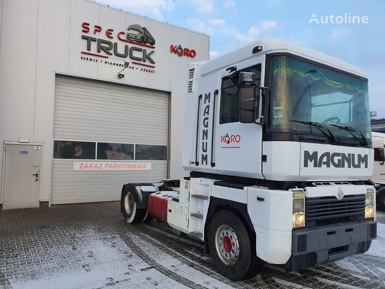 RENAULT Magnum AE 385 ti , 2 CULASSE ,  POMPE MANUELLE tractor unit