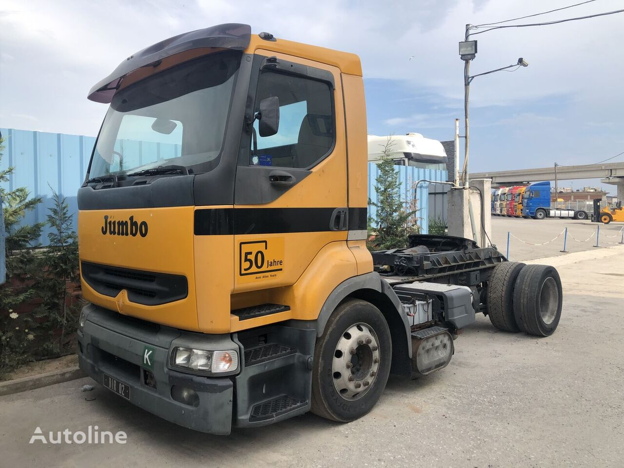 RENAULT PRENIUM 420 PTO MANUAL tractor unit