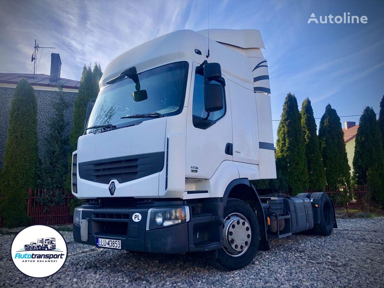 RENAULT Premium 410 Euro 5 - Manual Gearbox + retarder tractor unit