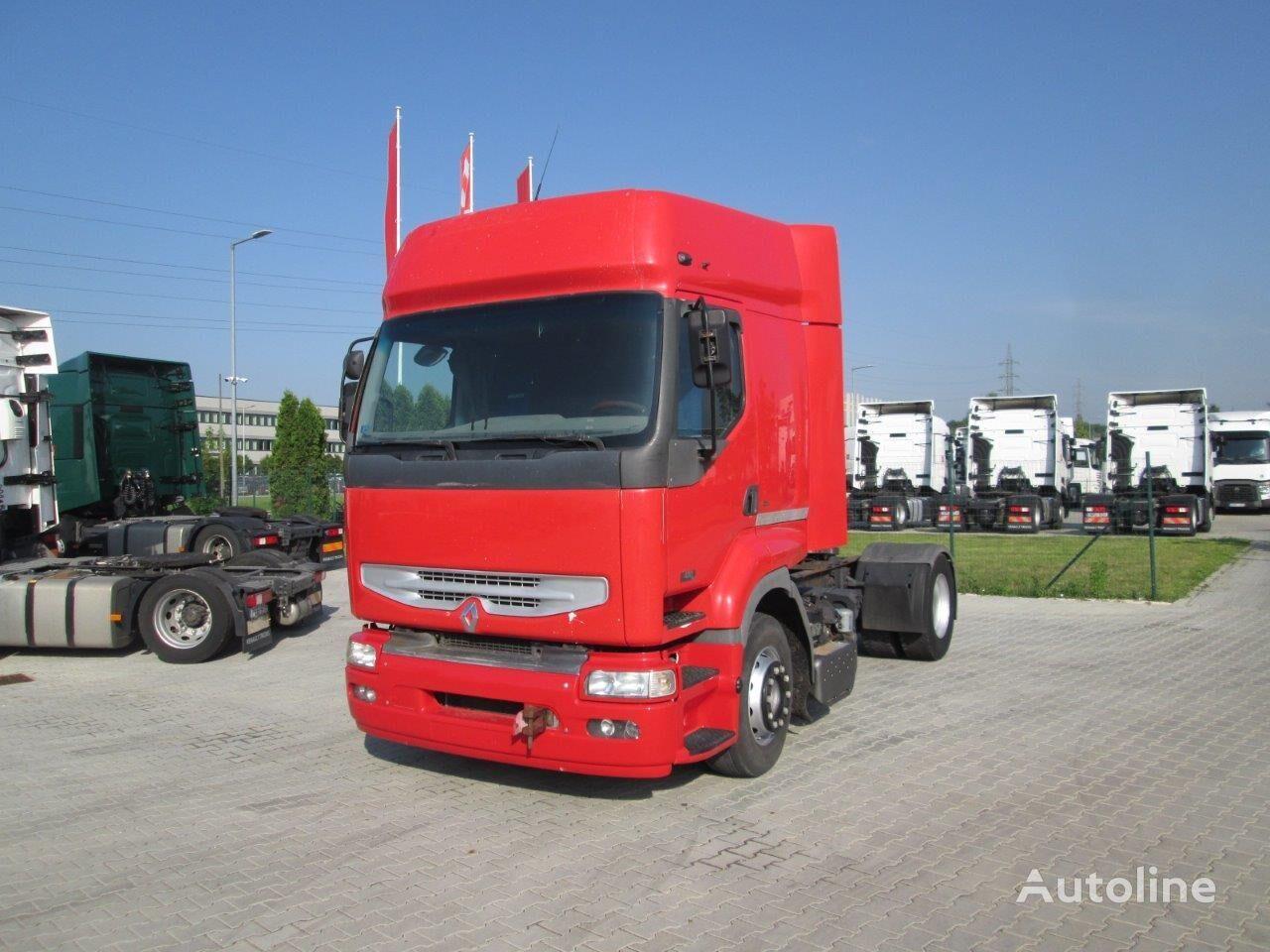 RENAULT Premium 420CDI blatt luft manuel tractor unit