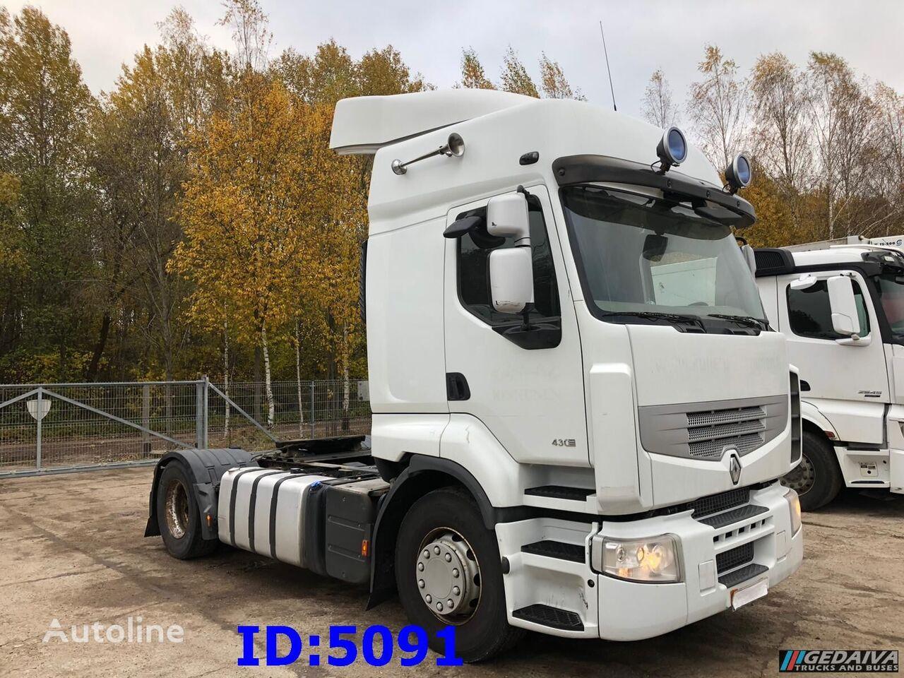 RENAULT Premium 430 DXI 4x2 Euro 5 tractor unit