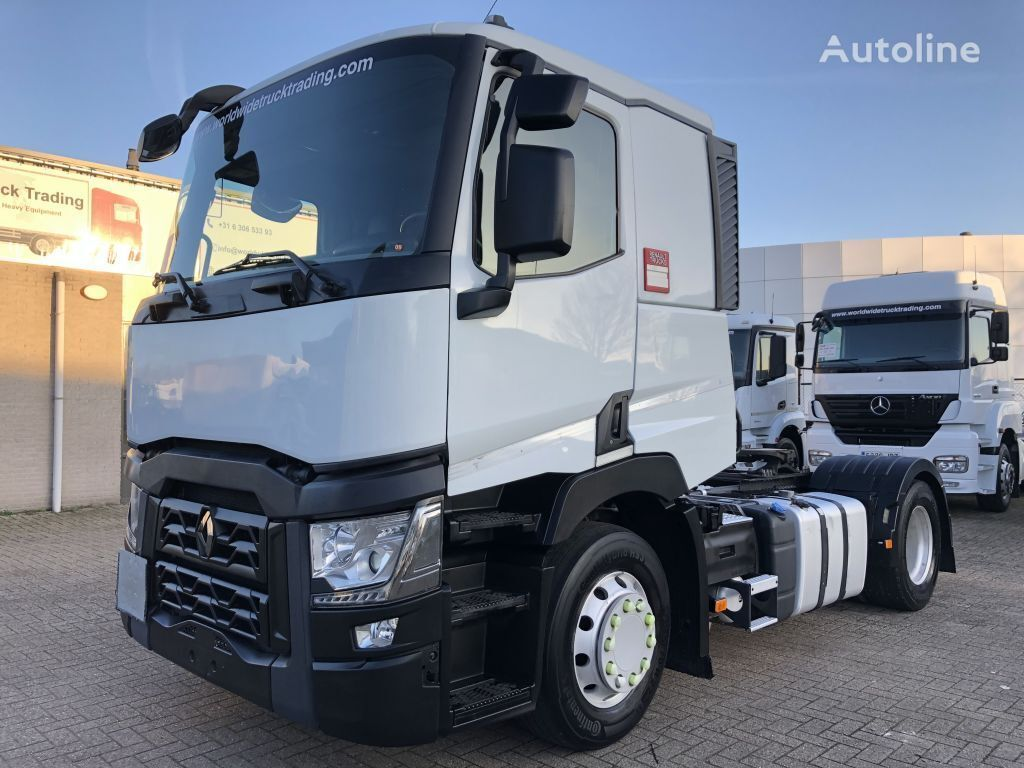 RENAULT T 460 + RETARDER + EURO 6 + ADR + PTO + ALCOA + TUV/APK tractor unit